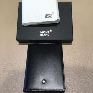 Authentic Montblanc Card Holder