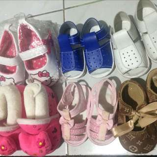Preloved Shoes/sandals For Baby Girl