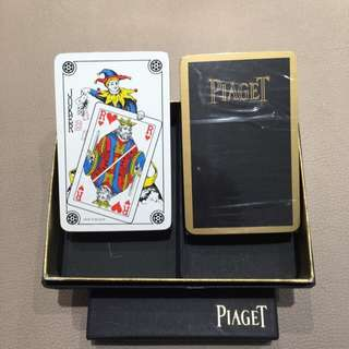 Piaget Gold Side Trim Playing Poker Card