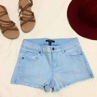 F21 Denim Short