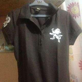 Crissa Brown Polo Shirt