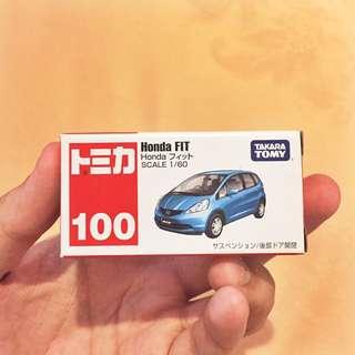 Tomica Honda Fit Biru