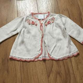 Embroidered Knitwear Cardigan