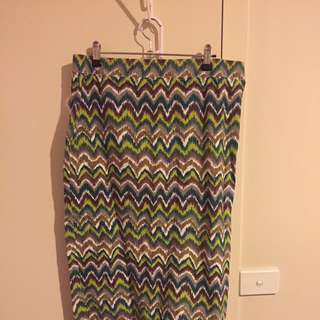 Ladies Fitted Stretchy Skirt