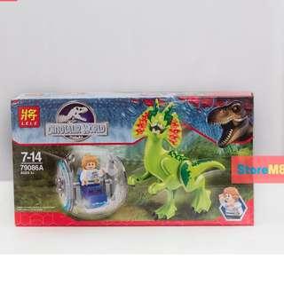 Lego like Dinosaurs of Jurassic Park World Mini Figure Buildable
