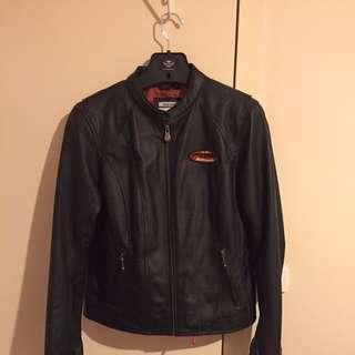 Ladies Genuine Harley Davidson Leather Jacket