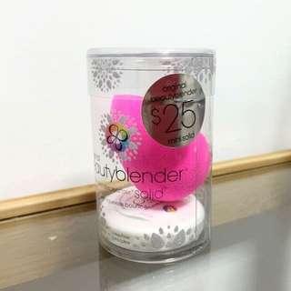 全新 Beautyblender 粉紅色 美妝蛋 + 清潔皂