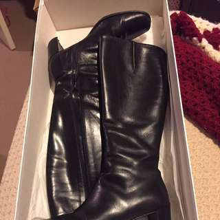 DOWN TO $100! Ladies Genuine Leather Boots