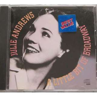 Julie Andrews sings Broadway CD