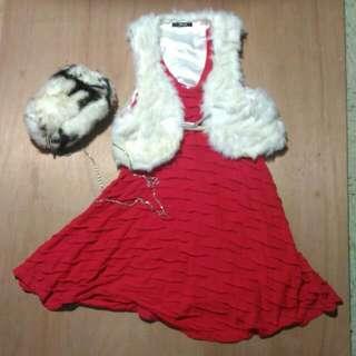 W& double 紅洋裝#轉轉來交換