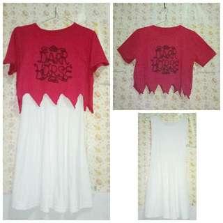 Dress Putih, Mini Dress