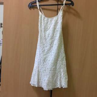 Cotton On White Lace Dress