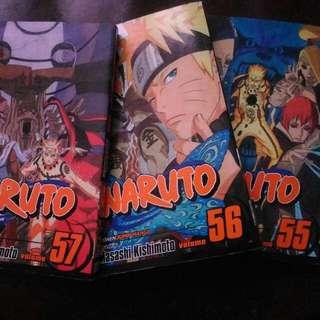 Naruto Shippuuden 55-57