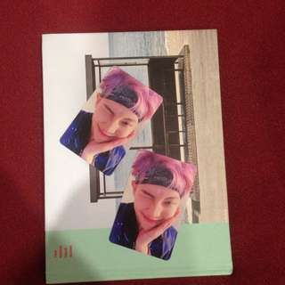 [TRADE] I have two rapmonster's photocards. I want to trade one or maybe both.