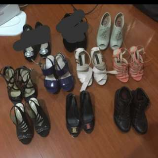 Size 6-7 Heels, Wedges