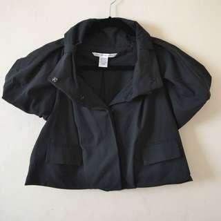 Diane von Furstenberg Black Bolero Jacket Size 4