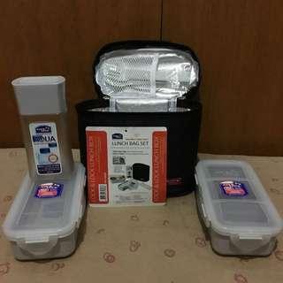 Lock & Lock Lunch Bag Set