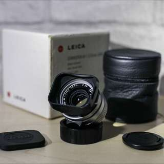 Leica 35mm f2 ASPH Summicron-M Silver (non-coded)