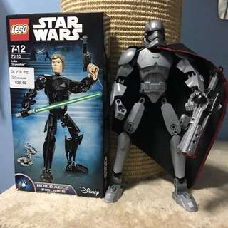 Star Wars Lego 75110 & 75118 Buildable Figures