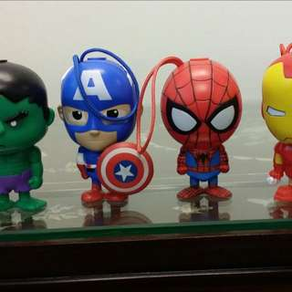 Marvel Spiderman Hulk Iron Man Pen