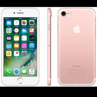 Iphone 7 ( Rose Gold )  128Gb  New And Sealed //  From Singtel //  Collecting On 28 March'17  Deal at woodlands mrt or expo mrt