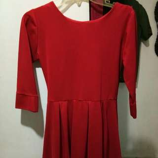 Dress Pl Merah