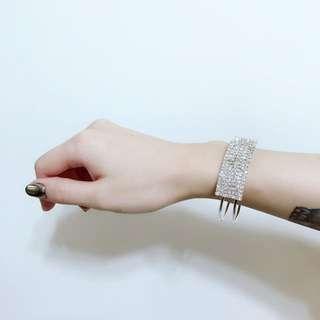 白鑽手環全新現貨