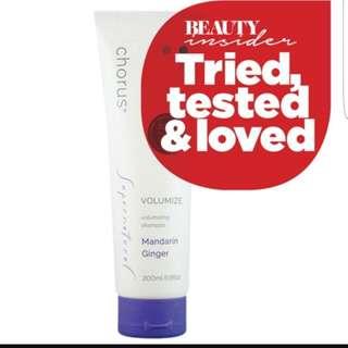 Chorus Volumize Shampoo & Gentle Shampoo