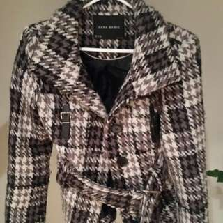 Zara Spring Coat Size S