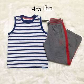 2 Pieces Set Mothercare For Boys