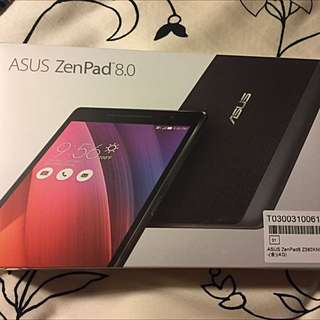 (全新未拆封,贈原廠皮套.2017.2月出廠) ASUS ZenPad 8.0,8吋8核金色,可通話平板