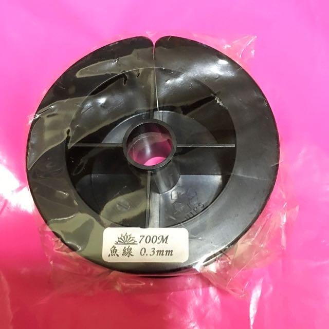 串珠專用0.3mm魚線700M(大捲)