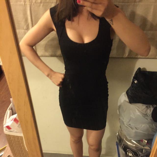 國外帶回性感合身洋裝