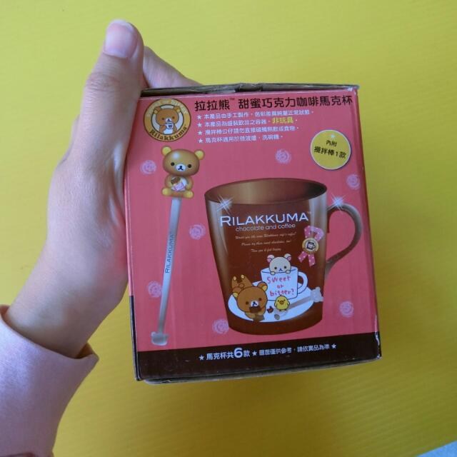 拉拉熊甜蜜巧克力馬克杯