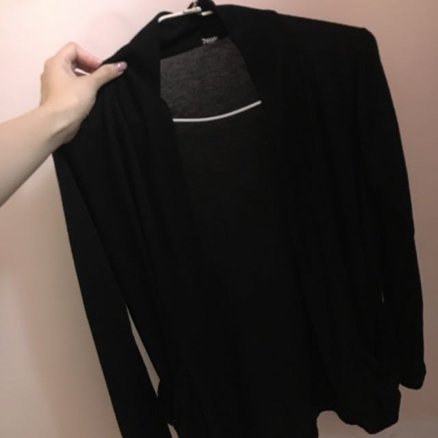 黑色 罩衫