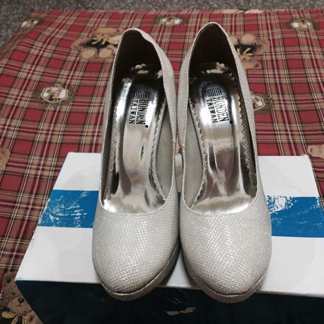 婚紗 婚禮 結婚 舞會 閃亮 高跟鞋