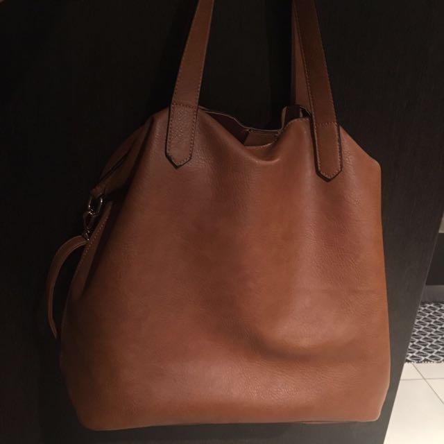 🔺 Brown Sportsgirl Handbag