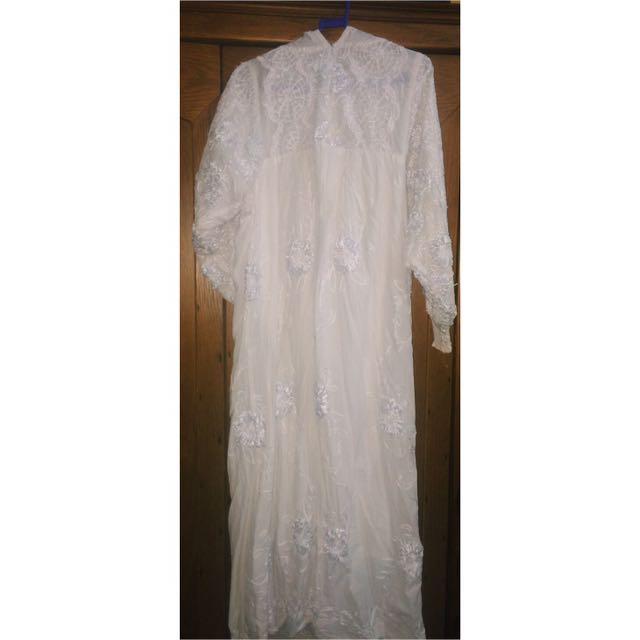 Abaya Full Bordir