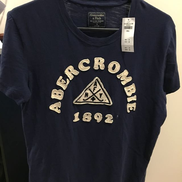 Abercrombie and Fitch Graphic Tee (Size S)