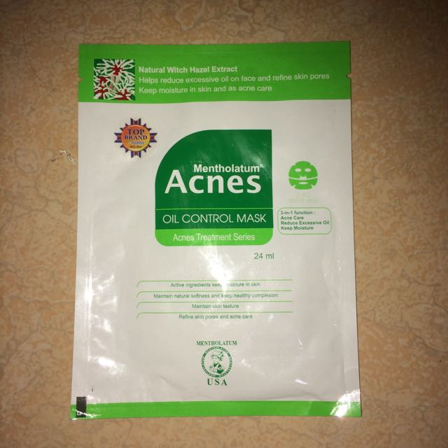 Acnes Oil Control Mask
