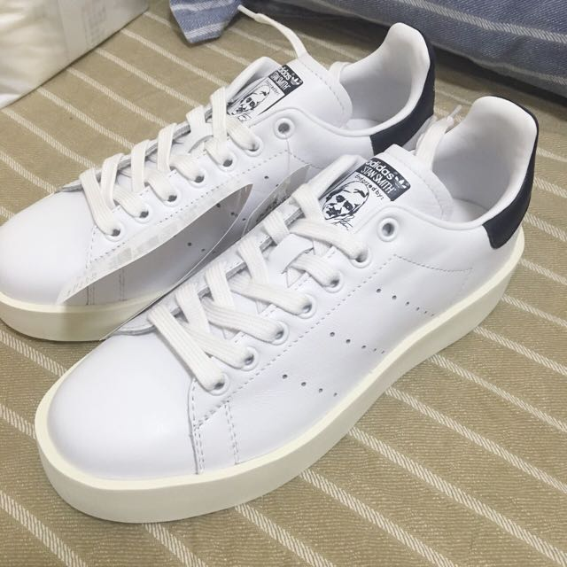 adidas Originals Stan Smith Bold史密斯 後底增高鞋