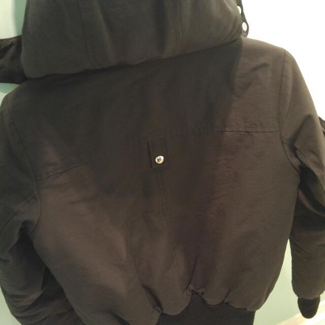Authentic Ladies Moose Knuckles Bomber Jacket (black - XS)