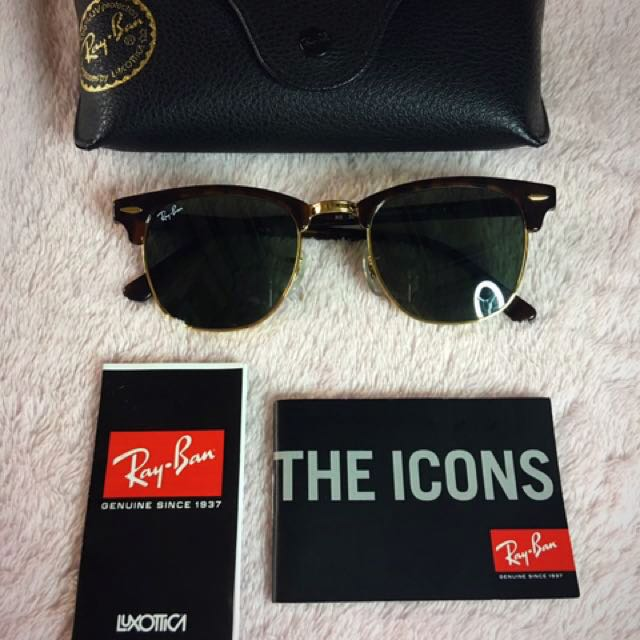 Authentic Ray-ban Clubmaster Shades