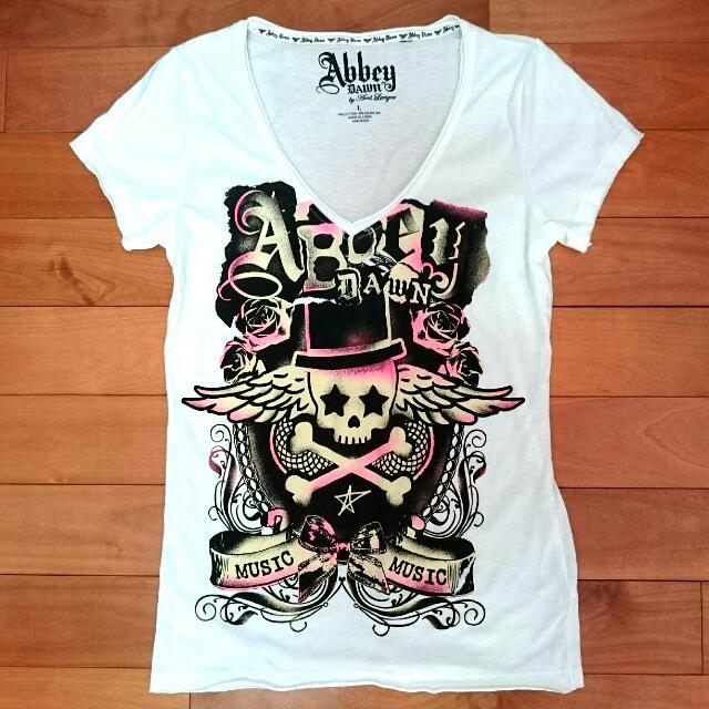 Avril 艾薇兒自創品牌 Abbey DAWN 星星骷髏頭上衣 T-shirt