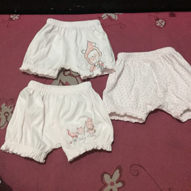 Baby Girl Hush Hush Shorts