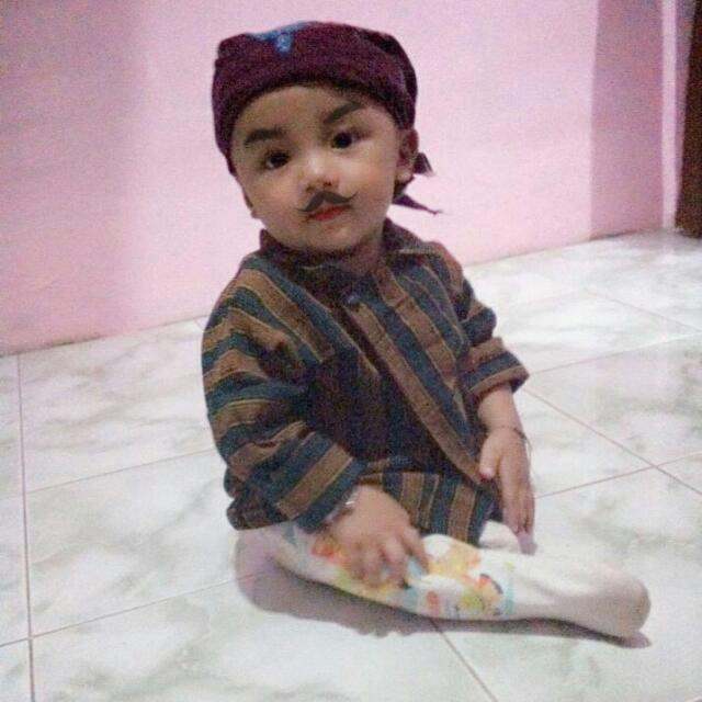 Baju Adat Jawa Bayi Babies Kids Boys Apparel On Carousell