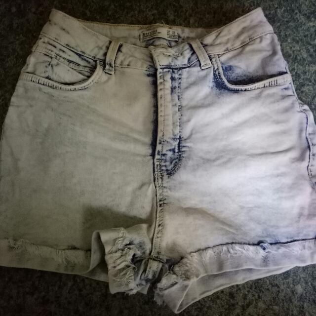 Bershka hight waisted shorts
