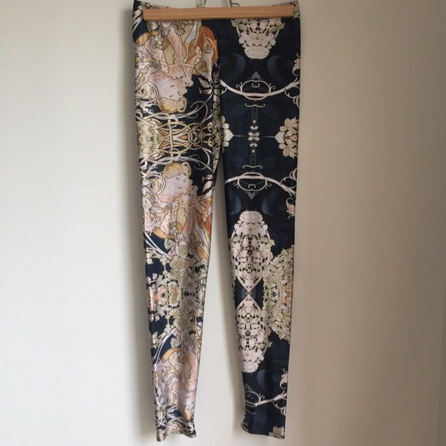 "Black Milk ""Mucha"" Black Leggings"