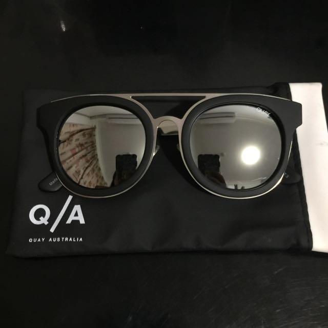 [BRAND NEW] Quay Australia Black Sunglasses