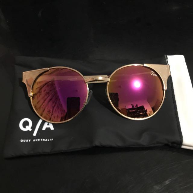 [BRAND NEW] Quay Australia Gold Sunglasses